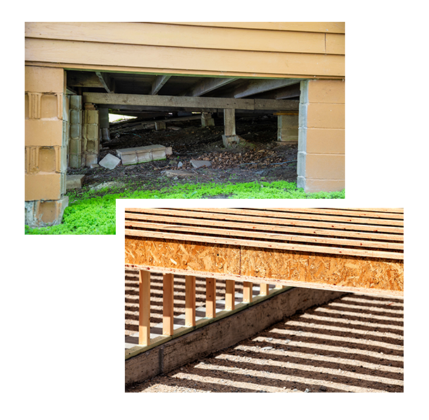 Old, Dilapidated Crawlspace vs. Brand New Crawlspace | Dr. Crawlspace Portland, Oregon