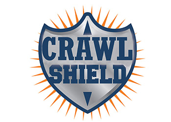 Crawl Shield Logo | Dr. Crawlspace